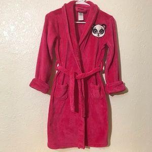 Plush Robe Girls size M 7/8